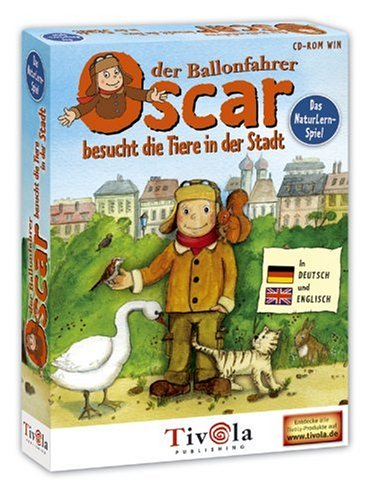Oskar der Ballonfahrer besucht die Tiere der Stadt