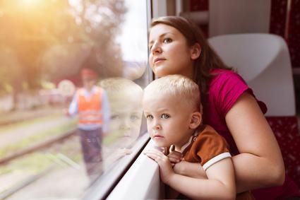 Bahnfahren mit Kindern