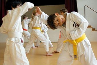Selbstverteidigung für Kinder, Foto: Robin Benito