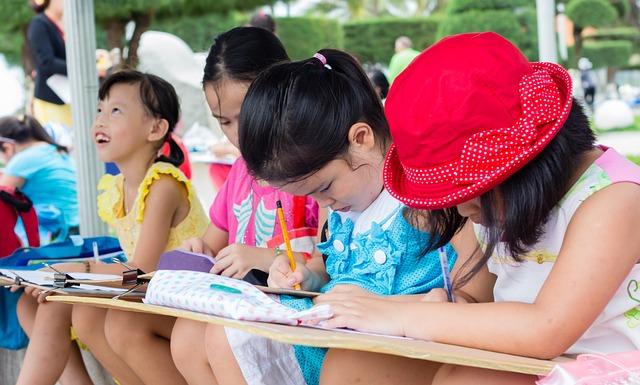 exam-1484805_640 malen mit kindern