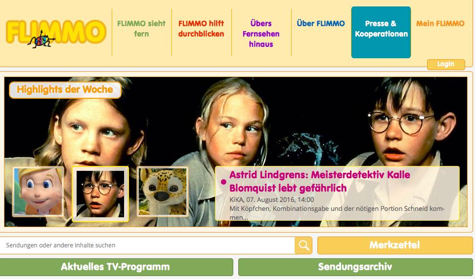 Vorschulkinder und Fernsehen
