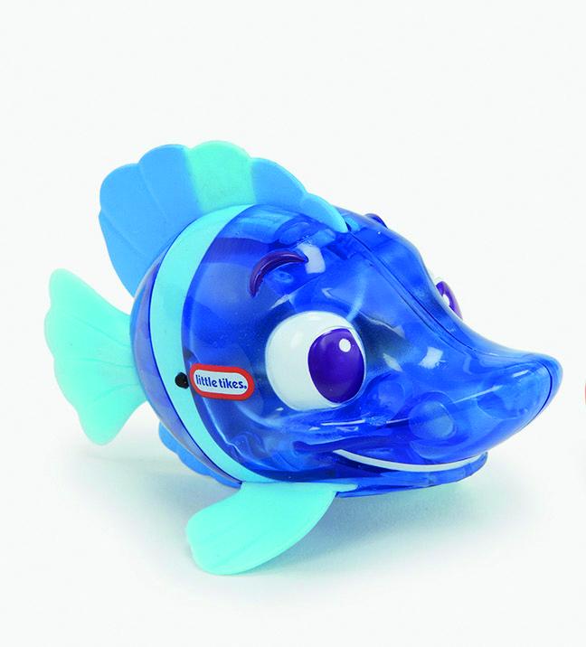 Sparkle Bay Badespielzeug, zapfcreation_lt_sparkle_bay_funkelfische_blau