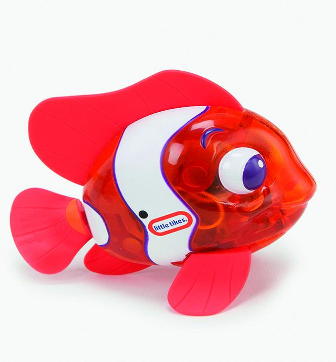 Sparkle Bay Badespielzeug, zapfcreation_lt_sparkle_bay_funkelfische_orange