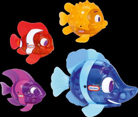 Sparkle Bay Badespielzeug, funkelfische
