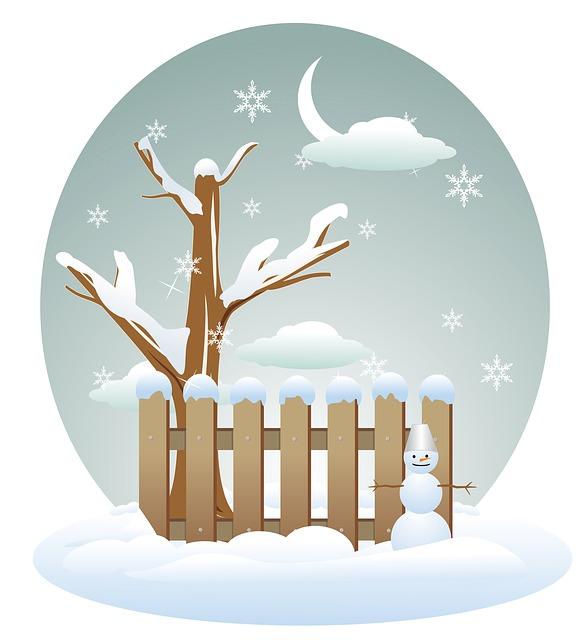 Kinderverse zur Weihnachtszeit, winter-163533_640