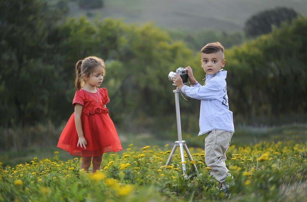 Kleine Fotografen