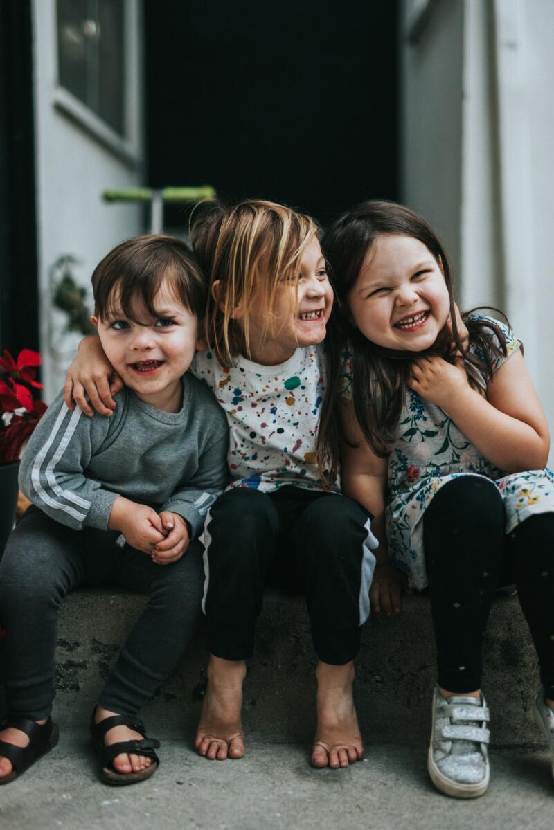 Streit unter Geschwistern – Drei Kinder