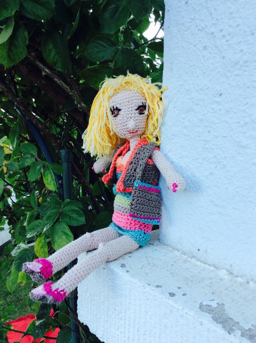 Amigurumi häkeln, Martina-Doll, Foto: MVS