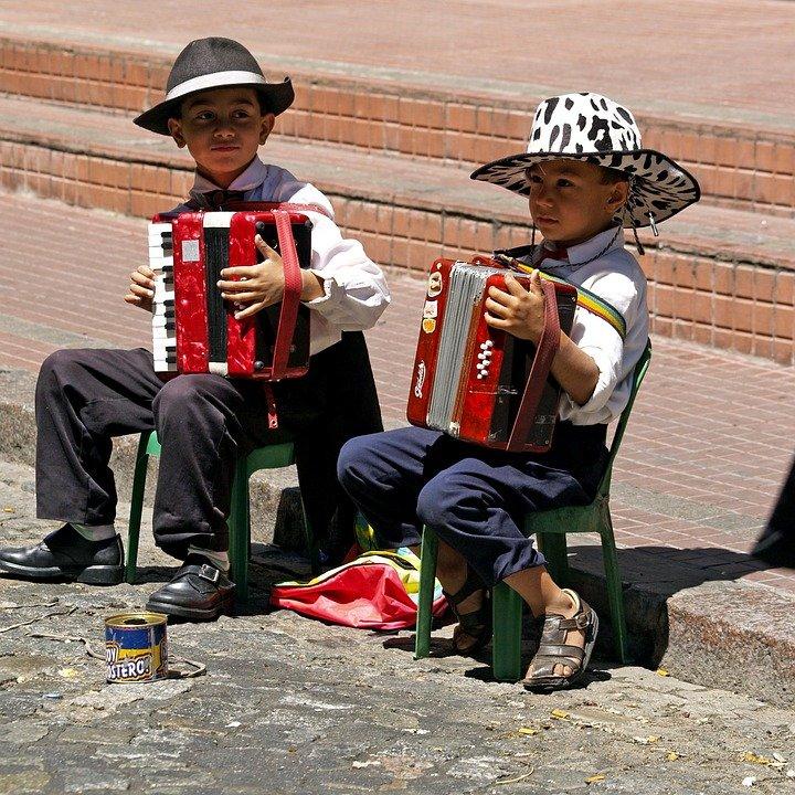 Mate, Kinder in Argentinien