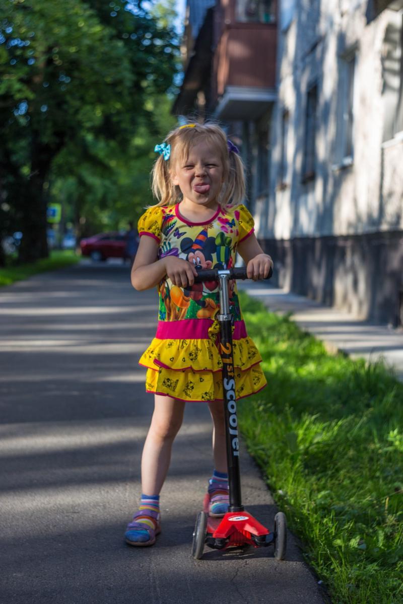 Kinderroller fördern die Koordination ganz spielerisch.