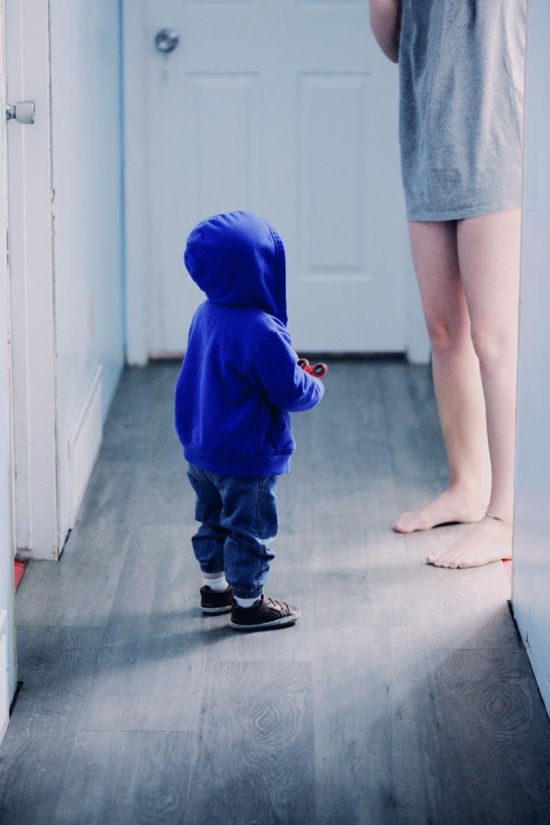 Eltern Kind Kommunikation . Mutter und Kind