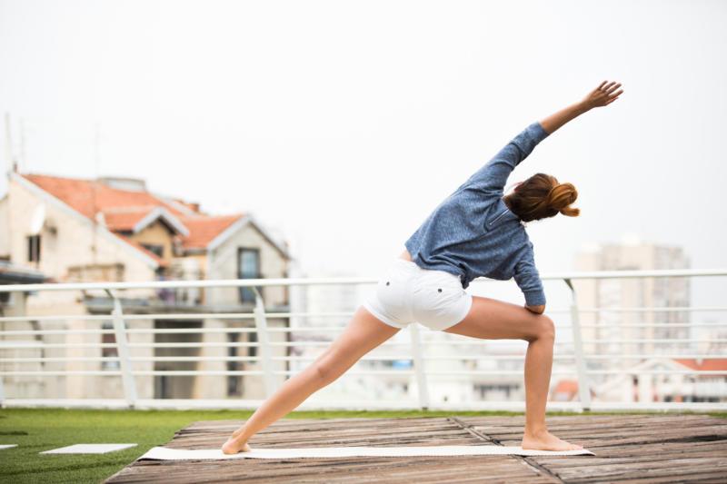 Urban Sports Club rooftop training
