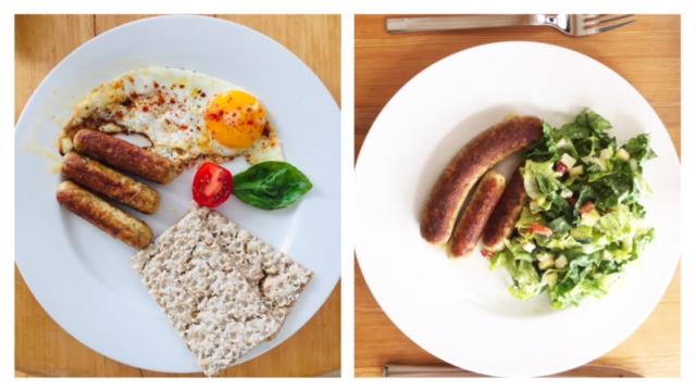 HERMANN Bratwurst, 2 Gerichte