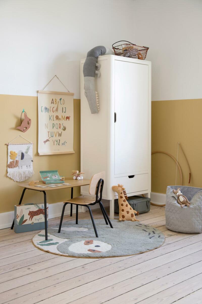 SEBRA INTERIOR -Oakee Tisch und Stuhl