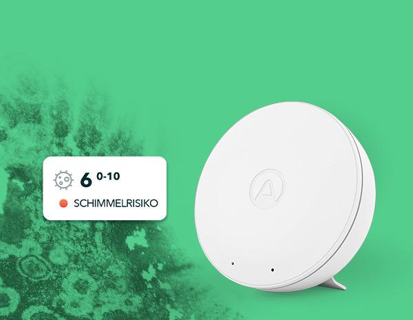 Schimmelbelastung erkennen -Wwave Mini von Airthings