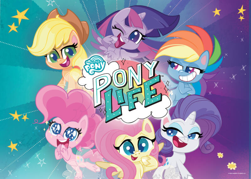My little Pony - Serie Aufmachetr