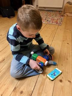 Roboter Kit von Robo Wunderkind im Spiel 1