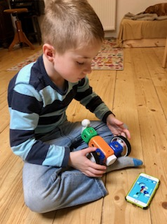 Roboter Kit von Robo Wunderkind im Spiel 2