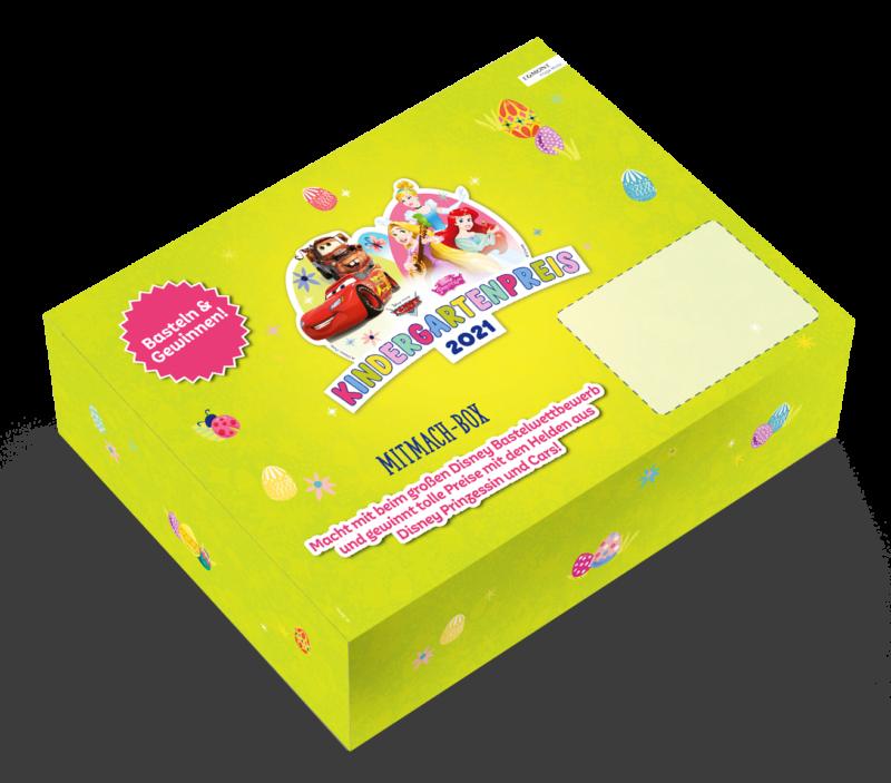 DISNEY Kindergarenpries-Mitmachbox