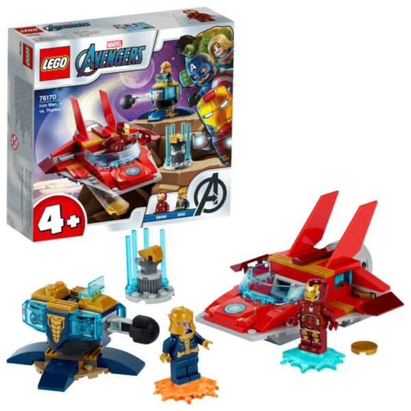 Lego Iron Man vs. Thanos,
