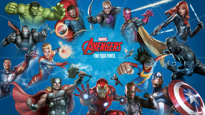 Avengers Find your Power Header
