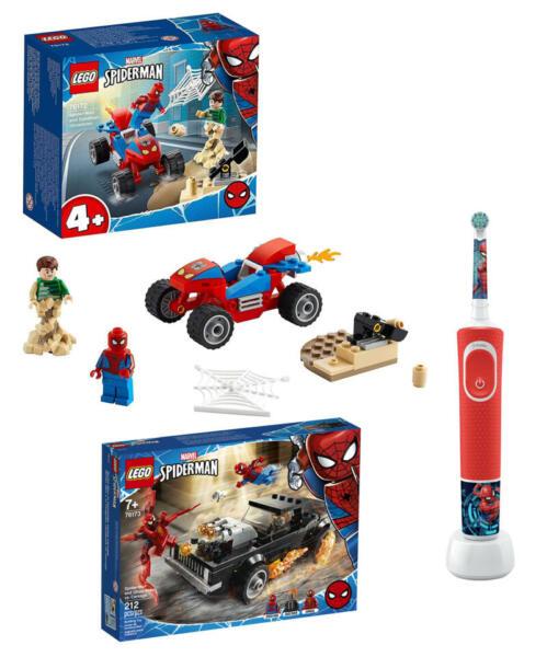 Oral B Spiderman Set