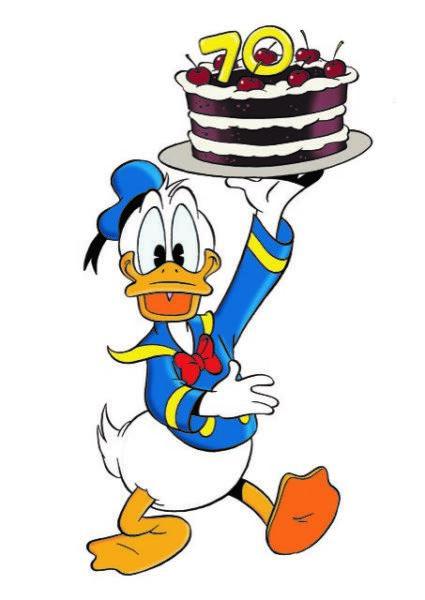 Donald_Duck_mit_Torte