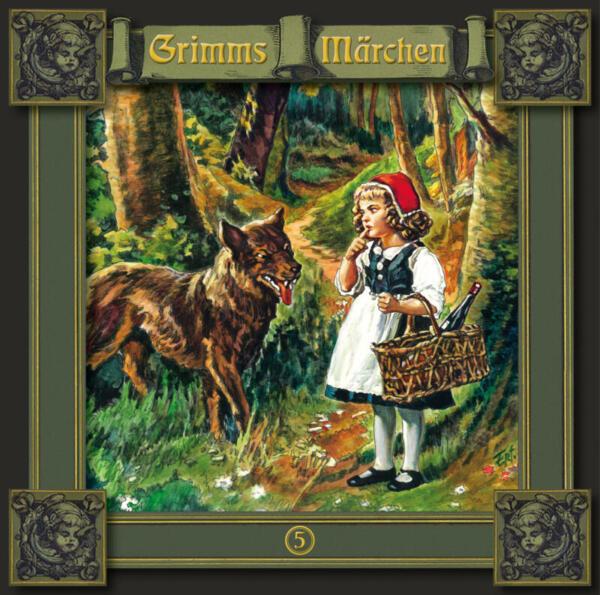 Grimms Märchen_CD_Titania_Rotkäppchen