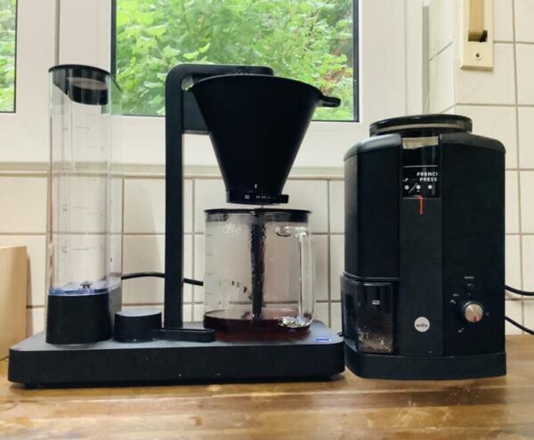 Wilfa_Kaffeemaschine und_Mühle