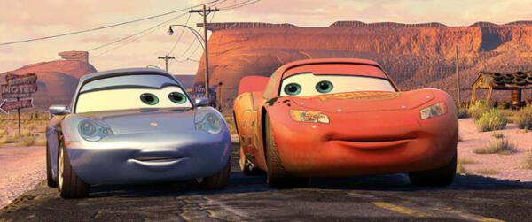 CARS_Lightning & Sally